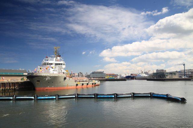 Unveiling Prototype in Scheveningen Harbor, June 22, 2016.