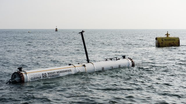 First test segment of the North Sea prototype succesfully installed, August 2017.