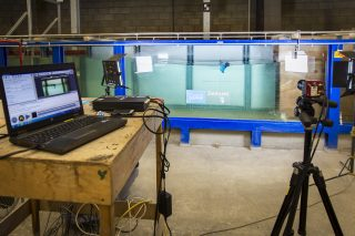 2D model tests at Deltares, Delft (NL)