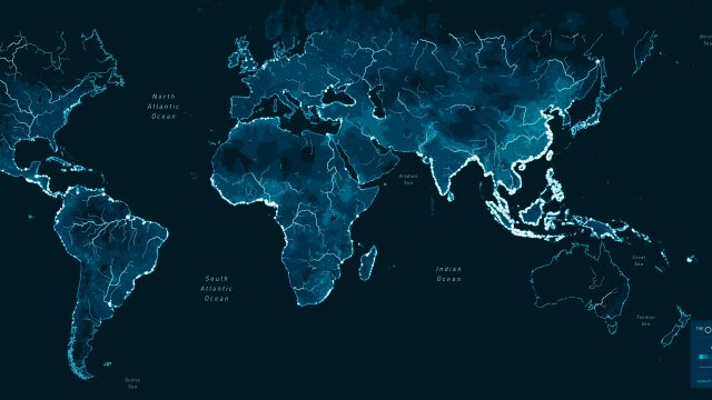 Global yearly plastic inputs from rivers into oceans. Browse the interactive map at theoceancleanup.com/sources