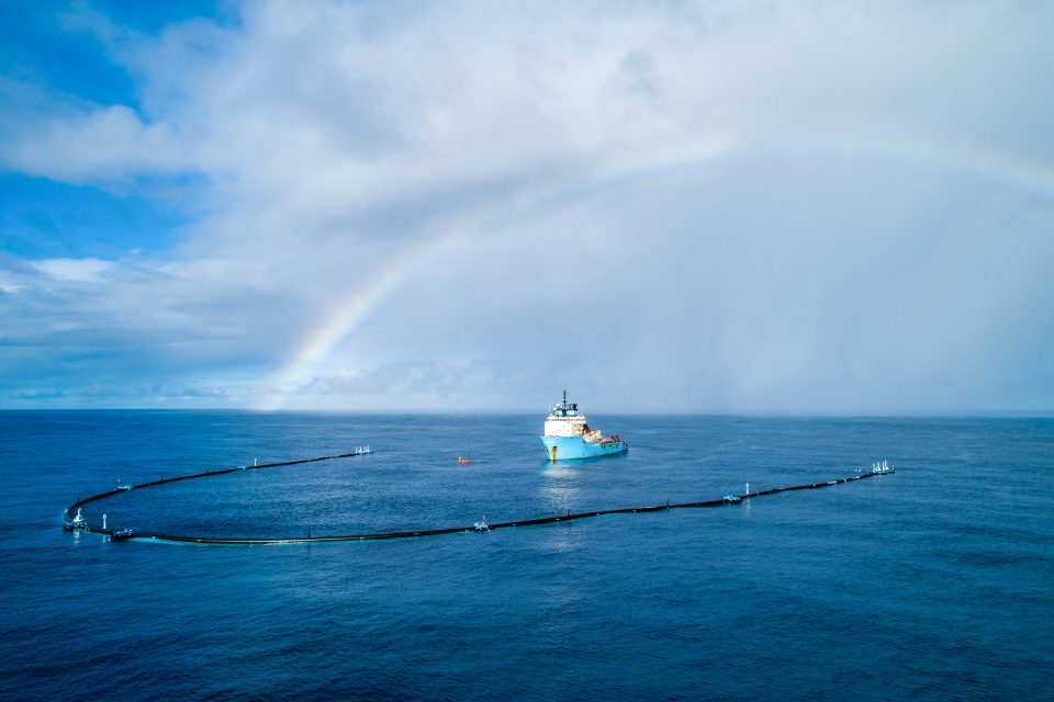 System 001 deployed Great Pacific Garbage Patch, October 2018