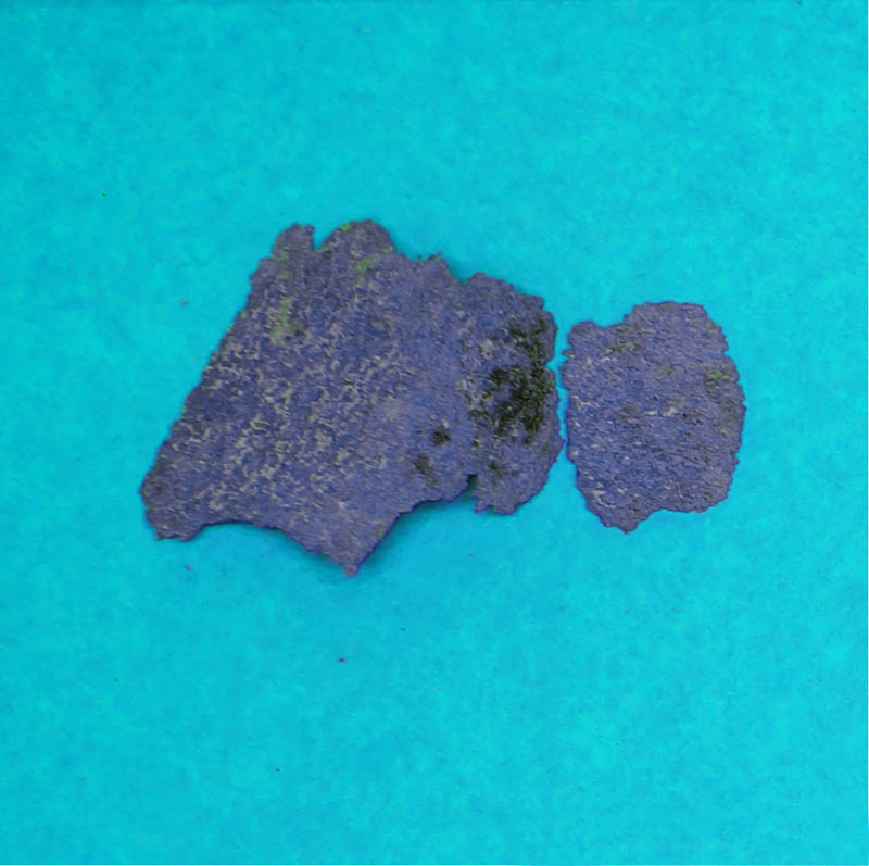 Ocean Plastic Type F: Fragments made of foamed materials