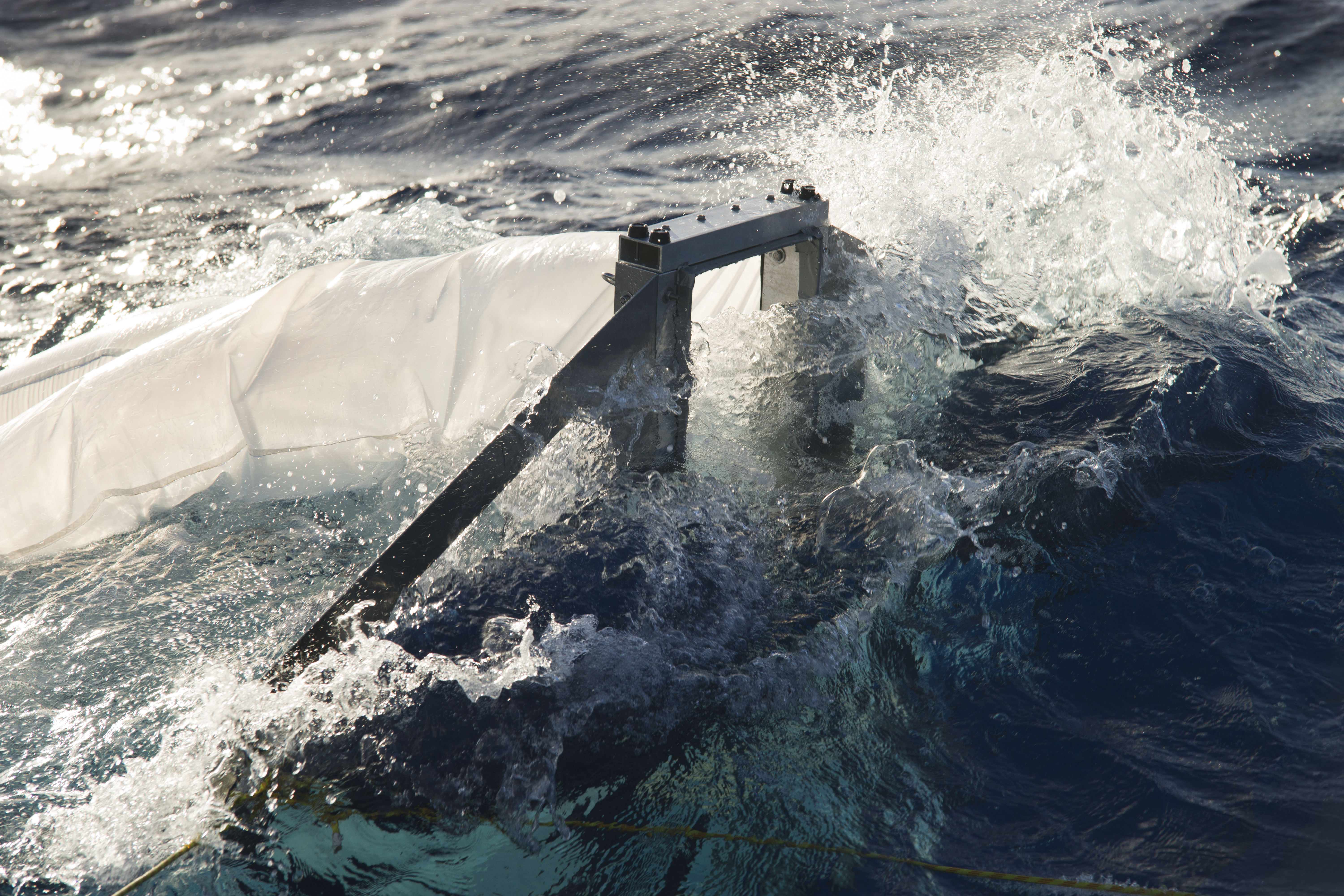 Multi-Level Trawl deployed during Vertical Distribution research expedition.