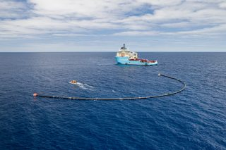System001/B deployed in the Great Pacific Garbage Patch