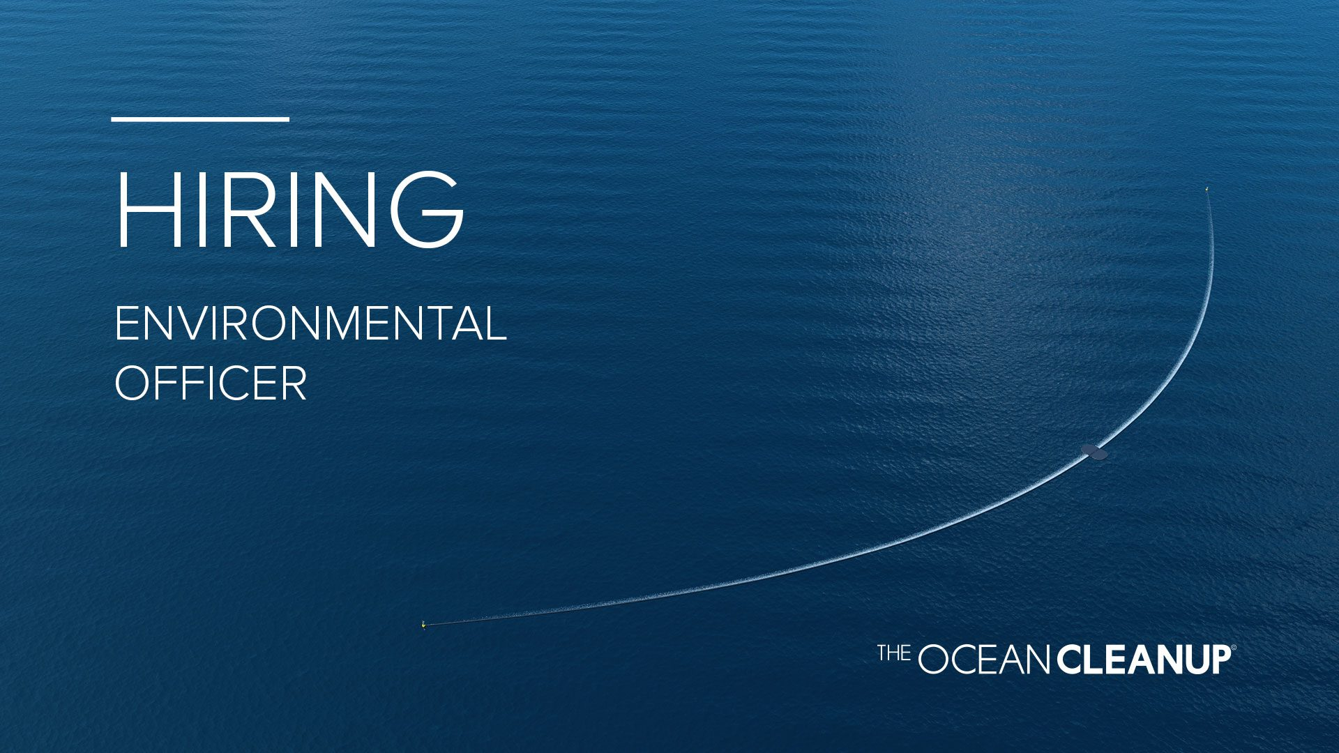 Environmental Officer | Careers | The Ocean Cleanup