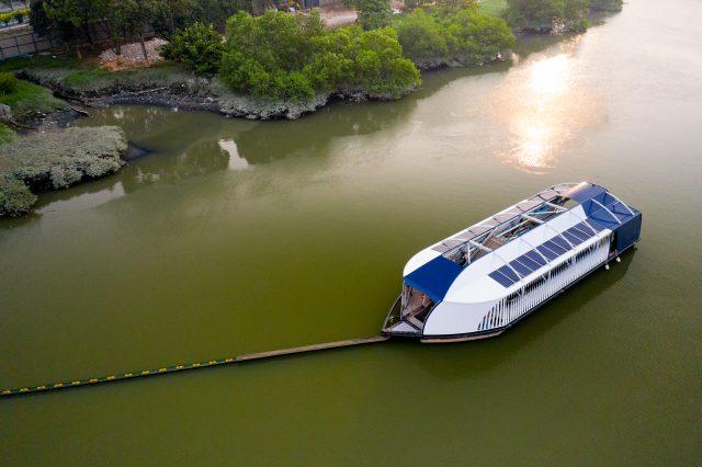 Interceptor 002 in Klang river, Selangor, Malaysia
