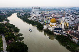 Interceptor™ 002 in Klang river, Selangor, Malaysia