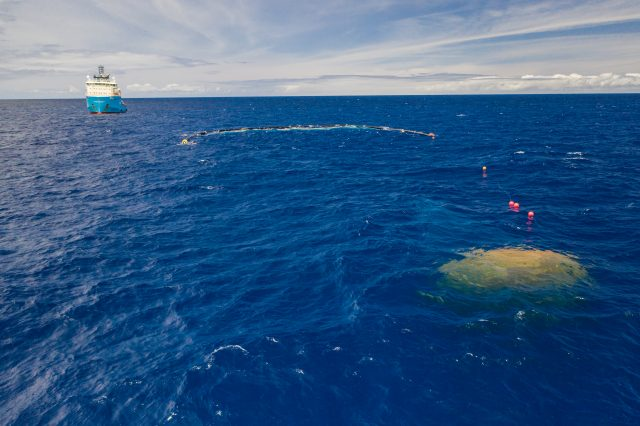 System 001/B in the Great Pacific Garbage Patch (2019)