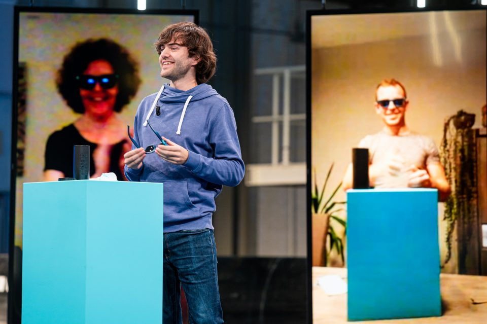 On October 24th, 2020, we unveiled the Sunglasses to a digital audience. Supporters unboxed their sunglasses live.