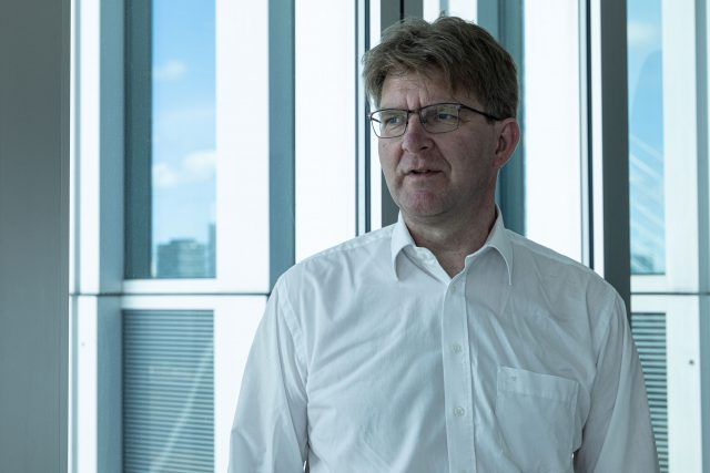 Jacob Fonteijne, joining The Ocean Cleanup as Managing Director