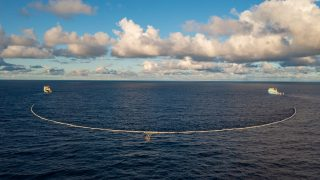 System 002 deployed for testing in the Great Pacific Garbage Patch